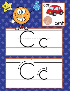 BASKETBALL - Alphabet Cards, Handwriting, Flash Cards, ABC print with pictures