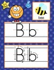 BASKETBALL - Alphabet Cards, Handwriting, Flash Cards, ABC