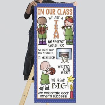 BASKETBALL - Classroom Decor: LARGE BANNER, In Our Class...