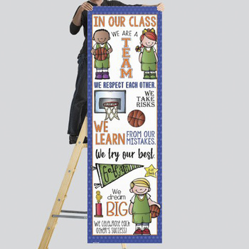 BASKETBALL - Classroom Decor: X-LARGE BANNER, In Our Class...