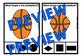 BASKETBALL MATH CENTER (2D SHAPES KINDERGARTEN ACTIVITY) GEOMETRY GAME