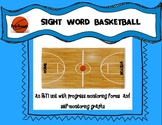 BASKETBALL SIGHT WORDS UNIT: Pre-Primer Dolch Sight Words: