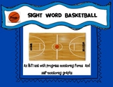 BASKETBALL SIGHT WORDS UNIT:Primer Dolch Words: RTI Unit