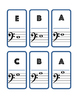 BASS CLEF NOTE - DOMINOES