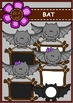 BAT Digital Clipart (color and black&white)