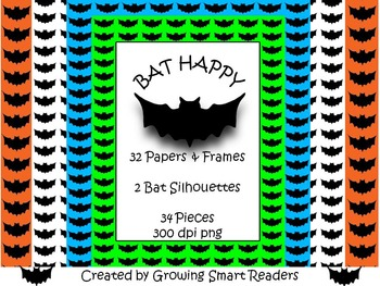 FREE! BAT Papers, Frames, Clip Art
