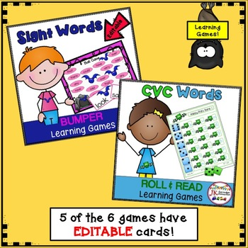 BAT Themed BUNDLE of Literacy Learning Games