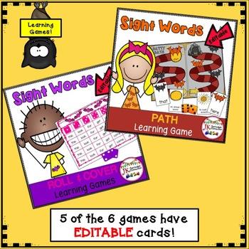Literacy Learning Games BUNDLE - Bat Theme