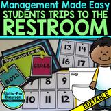 BATHROOM CARDS for CLASSROOM MANAGEMENT