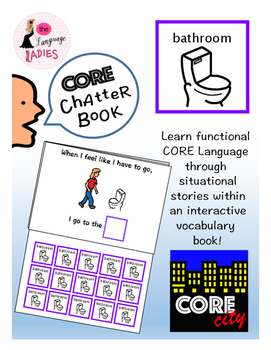 BATHROOM: Interactive Core City Chatter Book
