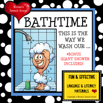 BATH BOOK & POSTER  PRE-K EARLY READER