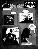 BATMAN Warmups Poster