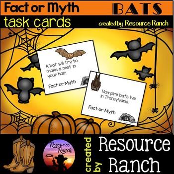 BATS - Fact of Myth Task Cards