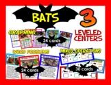 BATS! 3 Math centers, 15 skills, 5 levels