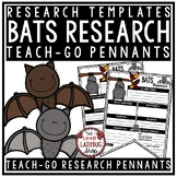 All About BATS Research Project & Rubric • Teach- Go Pennants™