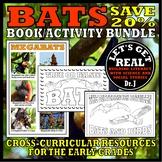 Nocturnal Animals: BATS Book/Activity Bundle