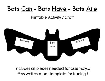 BATS Can Have Are Activity/Craft