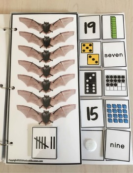 BATS Counting Up To 20 with Data and IEP Goals for Special Education/Autism