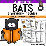 Kindergarten Halloween | BATS! Emergent Reader & Writing