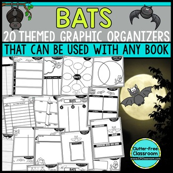 BATS | Graphic Organizers for Reading | Reading Graphic Or