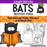 Kindergarten Halloween | BATS! Math, Literacy, & Science