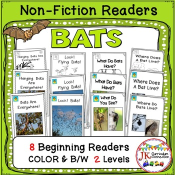 BATS! Guided Reading Non-fiction Beginning Readers