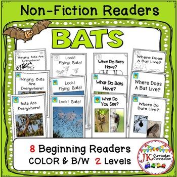 BATS! Guided Reading Non-fiction Beginning Readers