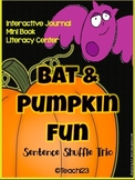 Halloween Bats Pumpkins Facts Fluency Activity Mini Book Foldables