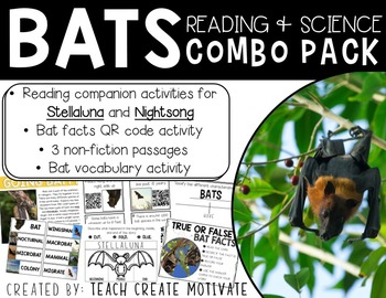 BATS {Reading & Science Combo Pack}