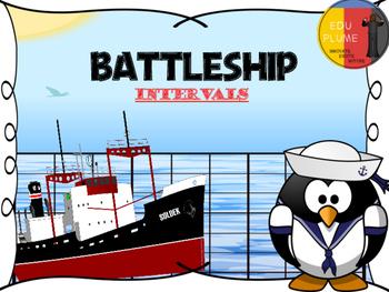 BATTLESHIP - INTERVALS GAME