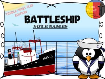 BATTLESHIP - NOTE NAMES (TREBLE/BASS CLEF)