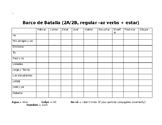 BATTLESHIP! Present tense -ar verb conjugations Spanish I Realidades 1 2a 2b