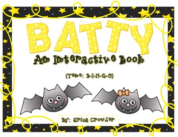 BATTY ~ An Interactive Book {Freebie|