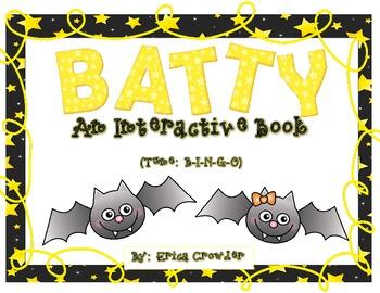 BATTY ~ An Interactive Book {Freebie|