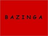 BAZINGA Review Game Template