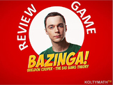 BAZINGA! a Cool & Fun Alternative to Jeopardy for Review