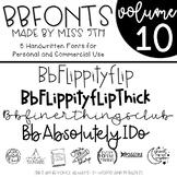 BB Fonts- Volume 10