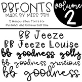 BB Fonts- Volume 2