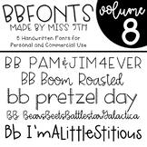 BB Fonts- Volume 8