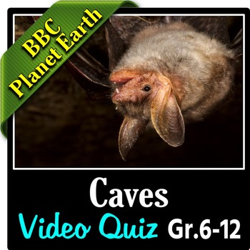 Planet Earth - CAVES - Video Quiz {Editable}