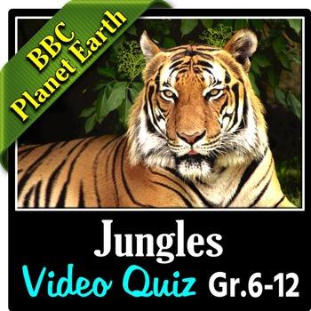 Planet Earth - JUNGLES - Video Quiz {Editable}