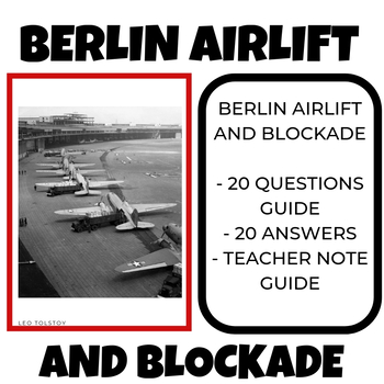 Berlin Airlift and Blockade Video BBC