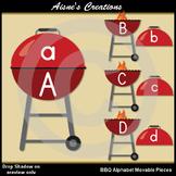 BBQ Alphabet Movable Pieces