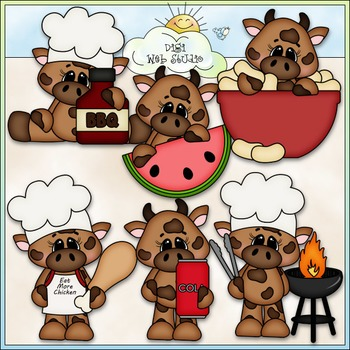 BBQ Beef 1 - Commercial Use Clip Art & Black & White Images