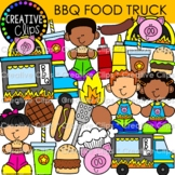 BBQ Food Truck {Barbecue Clipart}