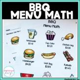 BBQ Menu Math