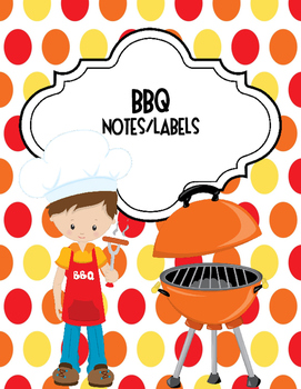 BBQ Notes/Labels