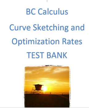 BC Calculus: Curve Sketching and Optimization