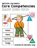 BC Core Competencies - Co-Created Bulletin Board
