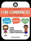 BC Curriculum Core Competencies Primary Bundle